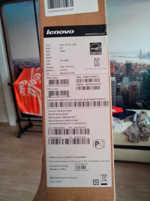 Foto 3 - Notebook Lenovo s500 a Dell